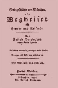 Burgholzer Joseph - Stadtgeschichte von München