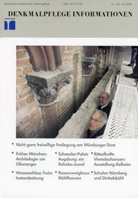 Bayerisches Amt für Denkmalpflege - Denkmalpflege Information 2006/07