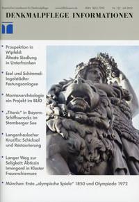 Bayerisches Amt für Denkmalpflege - Denkmalpflege Information 2012/07