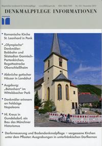 Bayerisches Amt für Denkmalpflege - Denkmalpflege Information 2012/11