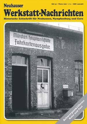 Arnold Habnd, Dichtl Erika, Eder Manfred, Königsbauer Karl, Schröther Franz, Waterstadt Piter, Weyerer Benedikt - Neuhauser Werkstatt-Nachrichten Heft 45