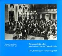 Wagenhöfer Werner, Zink Robert - Räterepublik oder parlamentarische Demokratie