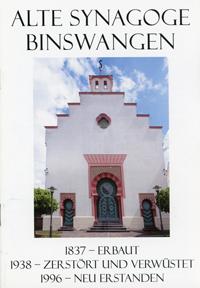 Storr Helmut - Alte Synagoge Binswangen