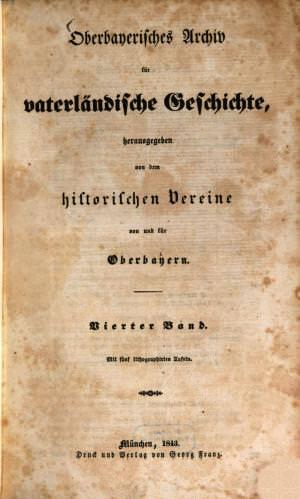 - Oberbayerisches Archiv - 4