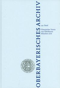 - Oberbayerisches Archiv - Band 140