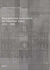 Heusler Andreas, Schmidt Brigitte - Biographisches Gedenkbuch der Münchner Juden 1933-1945