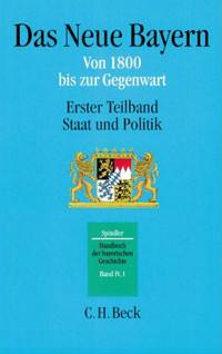 Spindler Max - Handbuch der bayerischen Geschichte