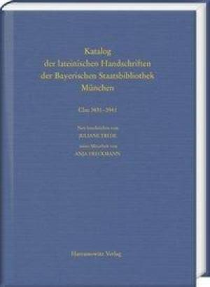 Trede Juliane, Freckmann Anja - Die Handschriften aus Augsburger Bibliotheken