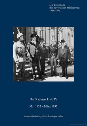 Ziegler Walter - Das Kabinett Held IV