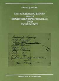 Bauer Franz J., Albrecht Dieter - Die Regierung Eisner 1918/19