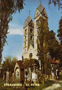 Huber Alfons, Bahnmüller Wilfried - Straubing: Basilika St. Peter