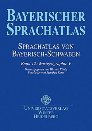 - Sprachatlas von Bayerisch-Schwaben (SBS) 12