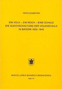 Schäffer Fritz - Ein Volk - Ein Reich - Eine Schule
