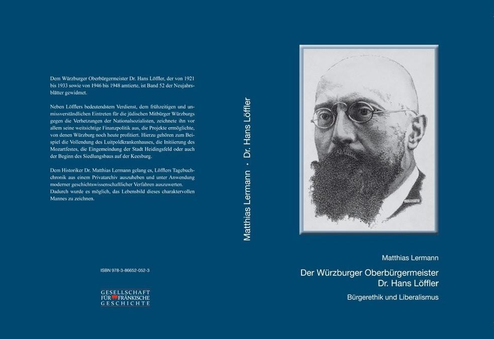 Lermann Matthias - Der Würzburger Oberbürgermeister Dr. Hans Löffler
