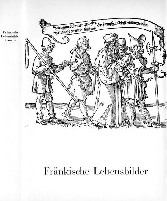 Pfeiffer Gerhard - Fränkische Lebensbilder Band 4