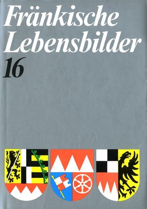 Wendehorst Alfred - Fränkische Lebensbilder Band 16