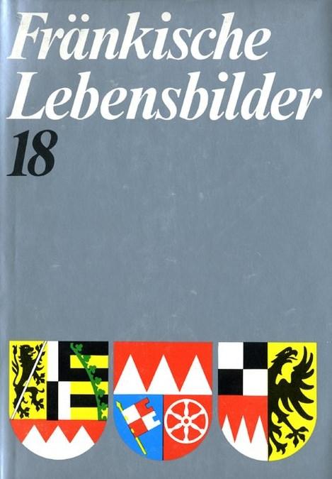 Schneider Erich - Fränkische Lebensbilder Band 18