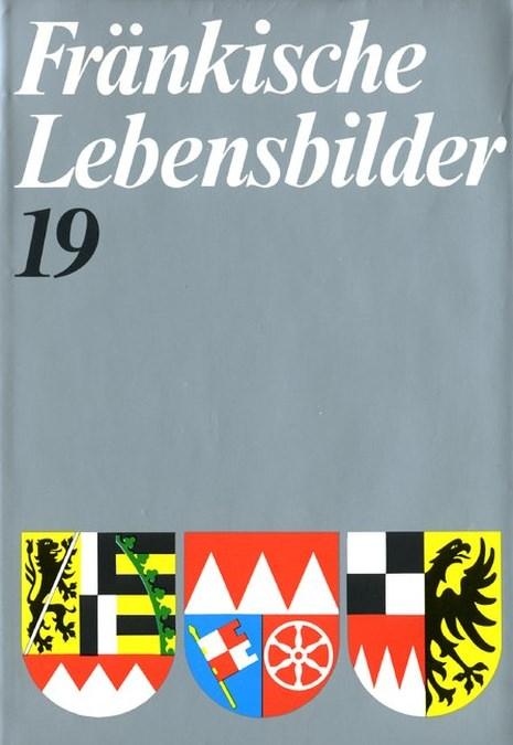 Schneider Erich - Fränkische Lebensbilder Band 19