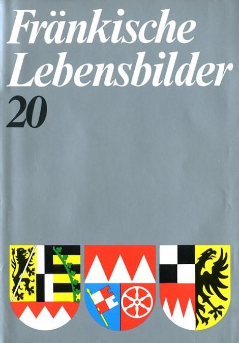 Schneider Erich - Fränkische Lebensbilder Band 20