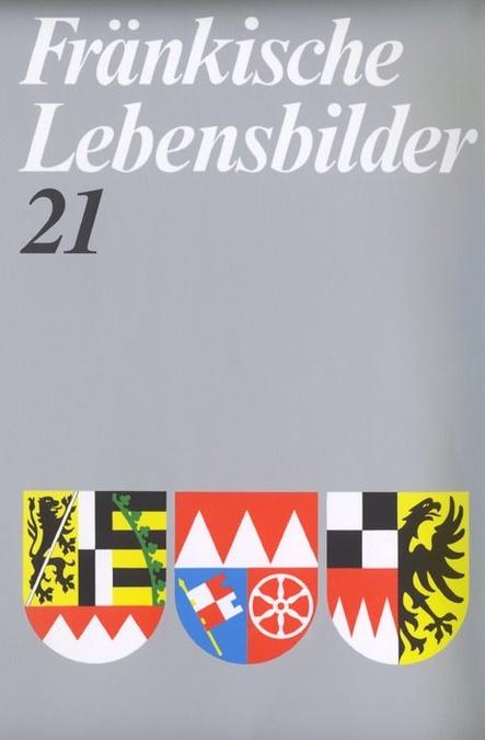 Schneider Erich - Fränkische Lebensbilder Band 21