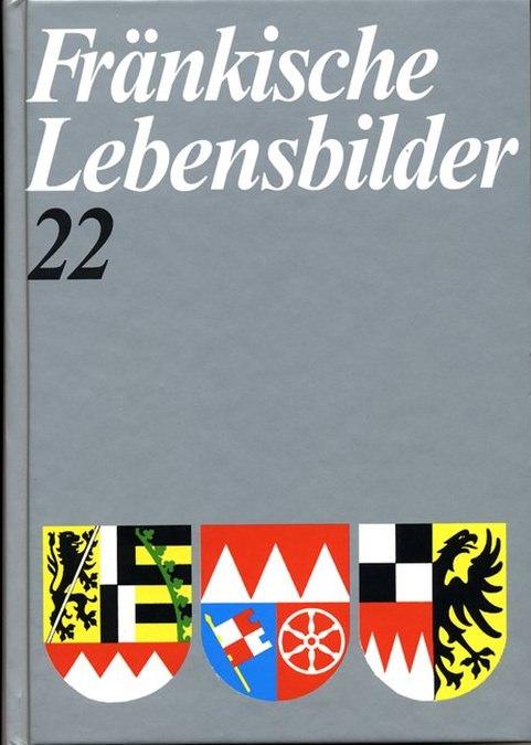 Schneider Erich - Fränkische Lebensbilder Band 22