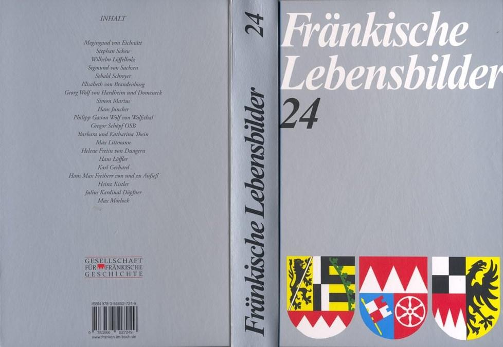 Schneider Erich - Fränkische Lebensbilder Band 24