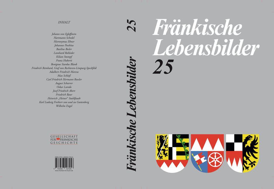 Schneider Erich - Fränkische Lebensbilder Band 25