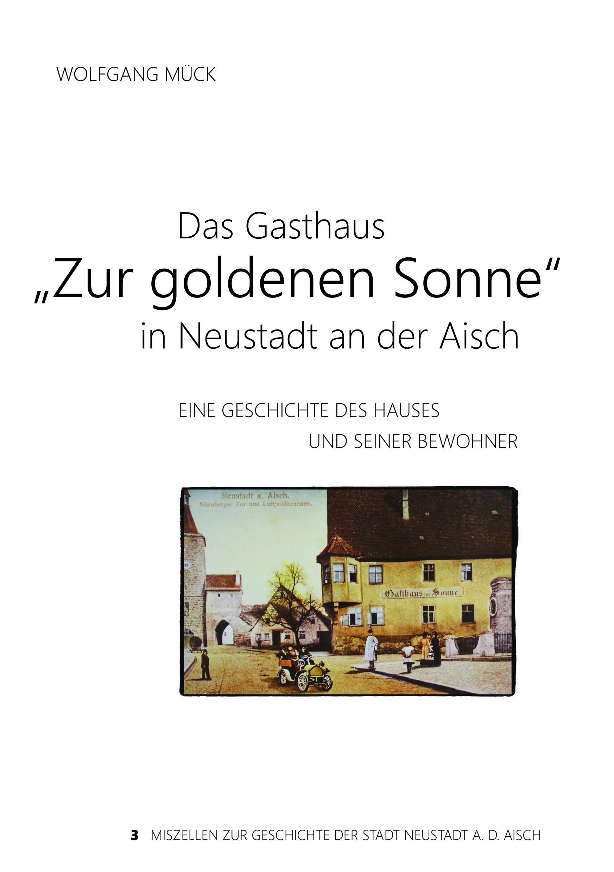 """Mück Wolfgang - Das Gasthaus """"Zur goldenen Sonne"""" in Neustadt an der Aisch"""