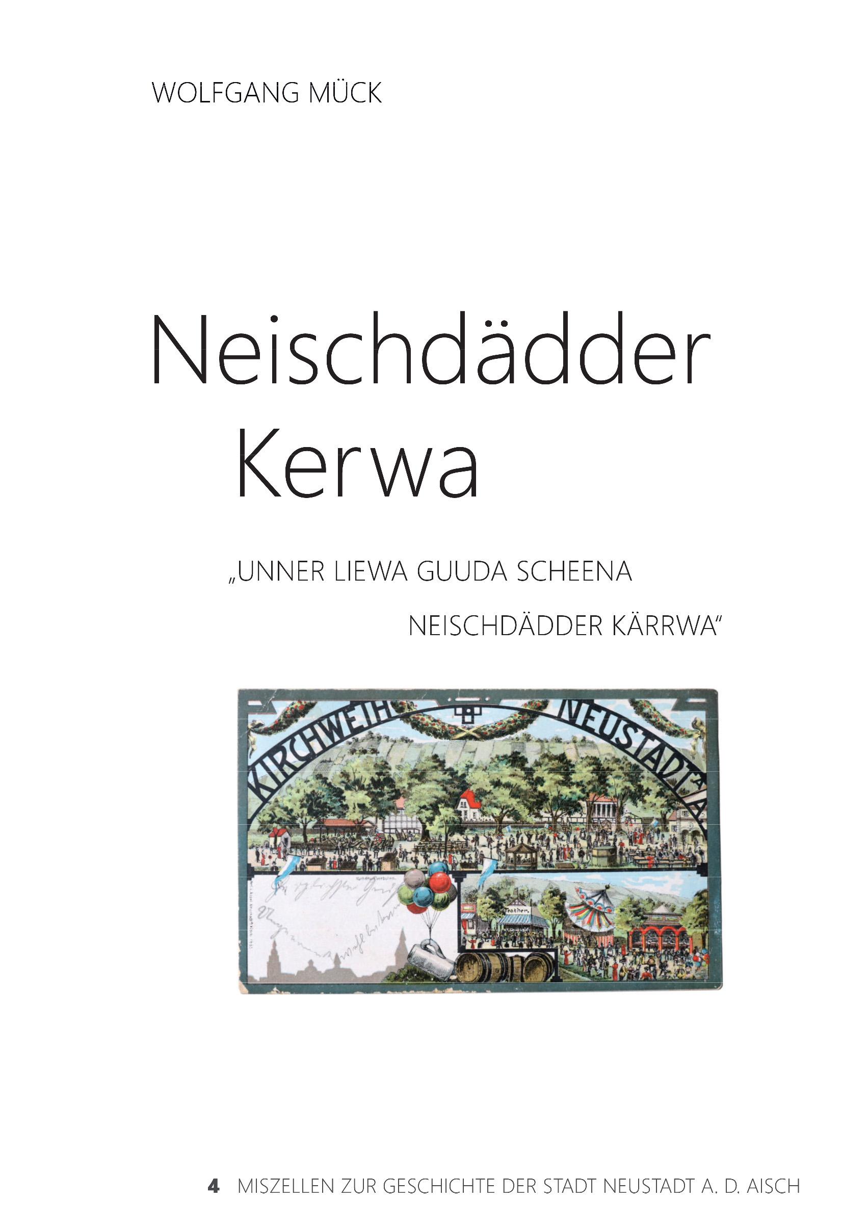 Mück Wolfgang - Neischdädder Kerwa