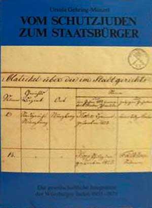 Gehring-Münzel Ursula - Vom Schutzjuden zum Staatsbürger