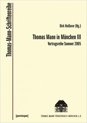 Borchmeyer Dieter, - Thomas Mann in München III