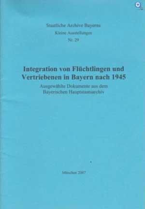Hopfenmüller Annelie - Integration von Flüchtlingen und Vertriebenen in Bayern nach 1945