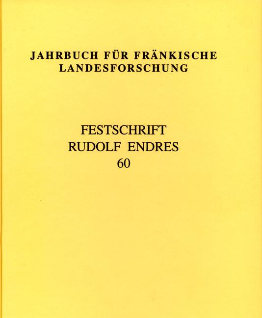 Bühl Charlotte, Fleischmann Peter - Jahrbuch für fränkische Landesforschung