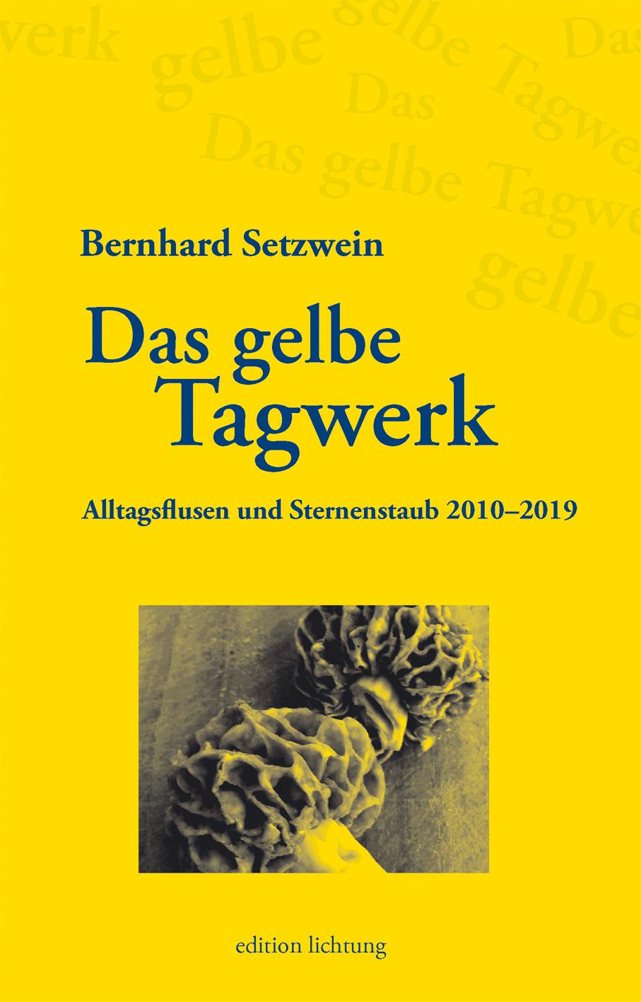 Setzwein Bernhard - Das gelbe Tagwerk