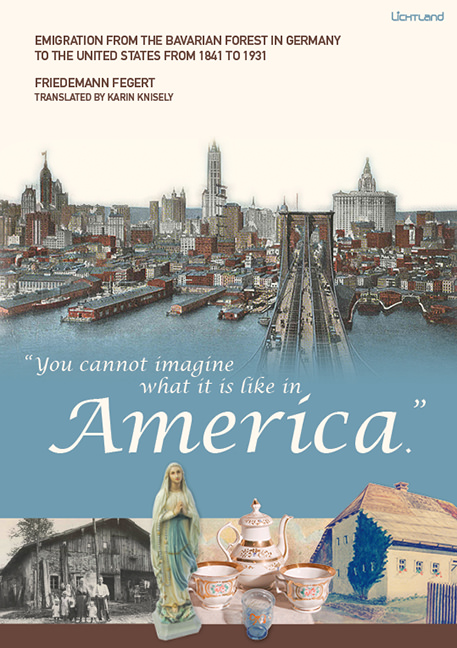 "Friedemann Fegert, translated by Karin Knisely - ""You cannot imagine what it is like in America."""