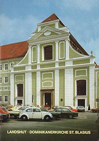 Stahleder Erich - Landshut - Dominikanerkirche St. Blasius